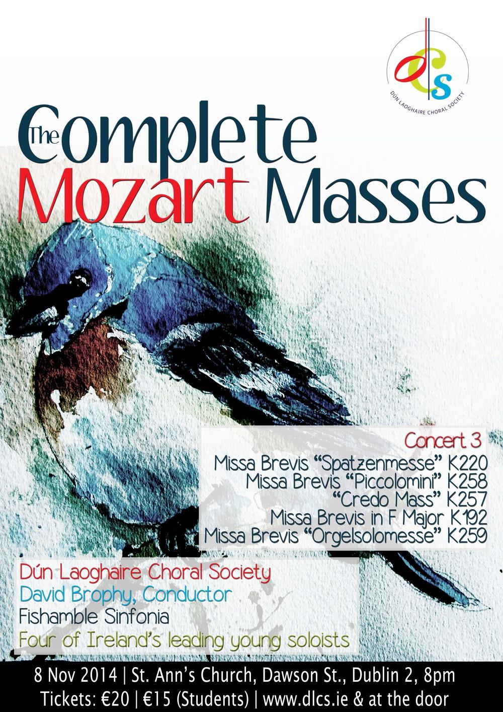 Mozart Masses Concert 3