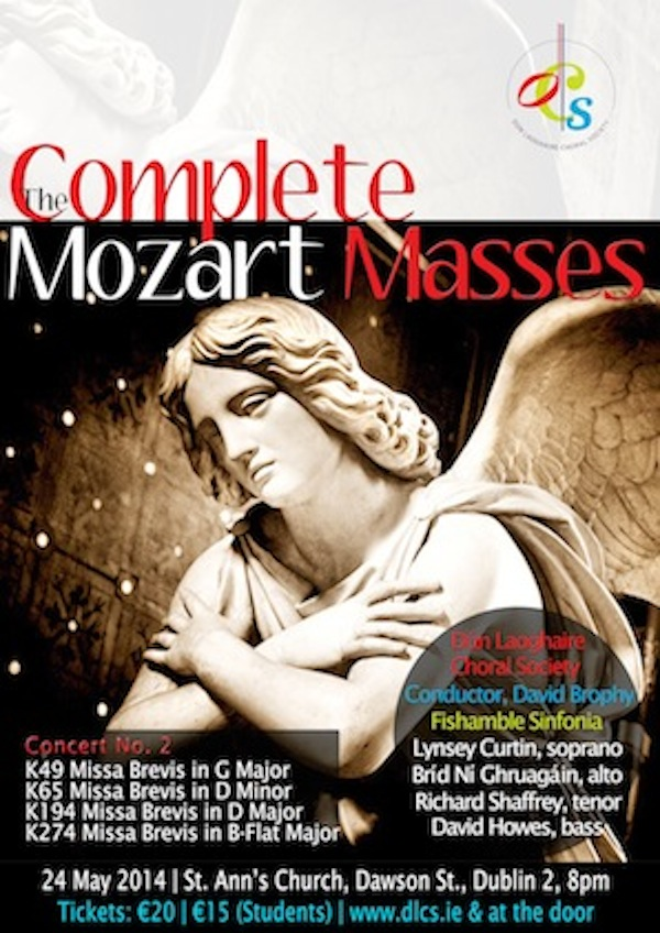 Complete Mozart Masses Concert 2, 24th May 2014