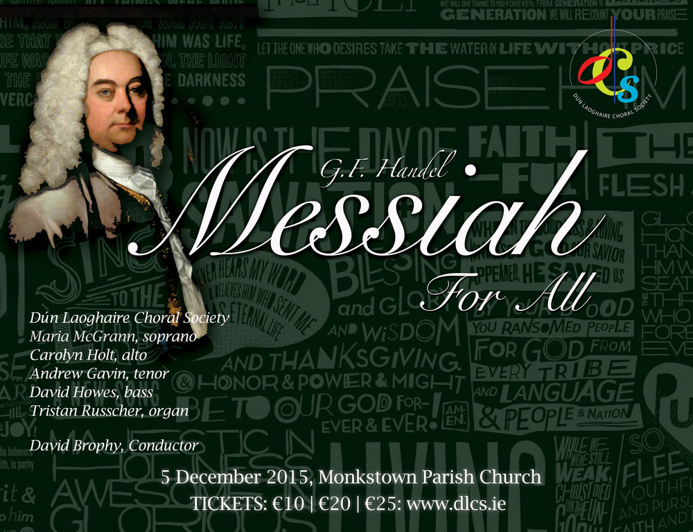 MESSIAH FOR ALL, 5 December 2015