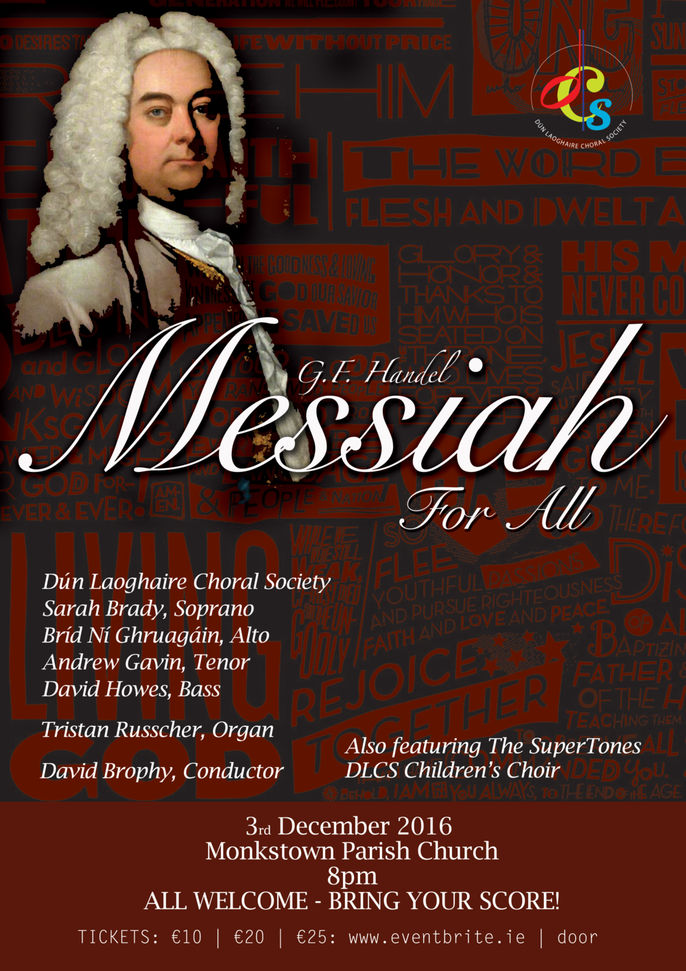 DLCS Messiah for All poster