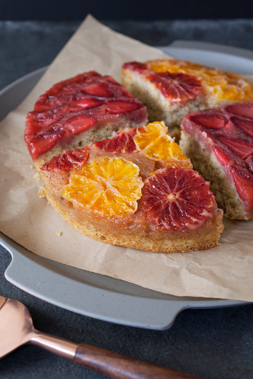 Lavender Upside Down Cake recipe