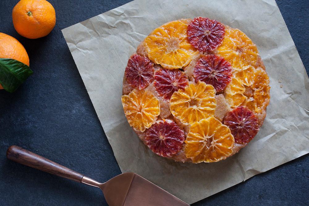 Lavender Upside Down Cake recipe