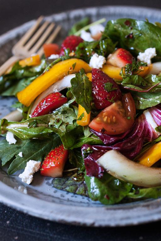 Spring Strawberry Salad recipe