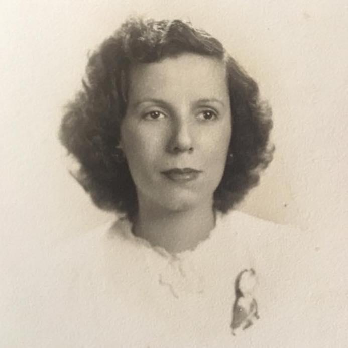 Grandma in Cuba - 1946