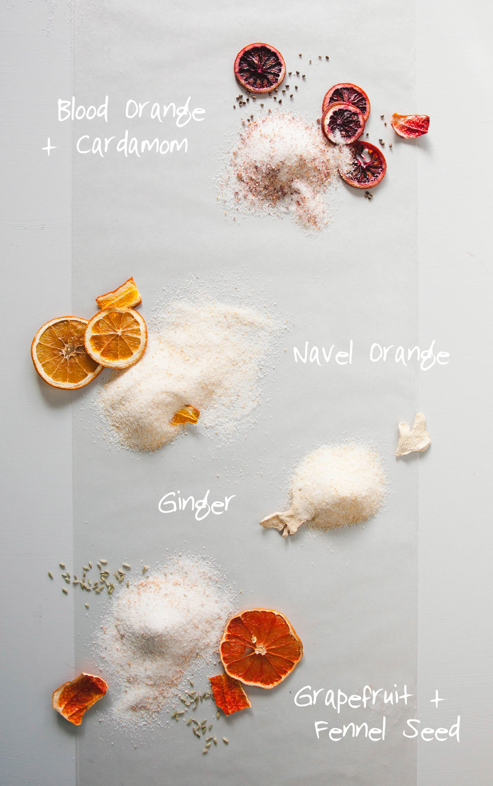 Flavored Sugar and Salt