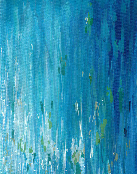 Cortney North,   Shimmering Water II
