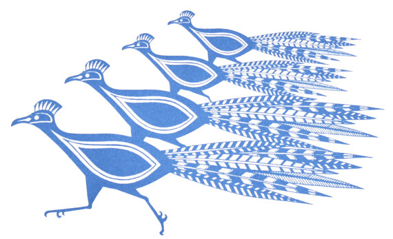 Kath Edwards,   Blue Birds