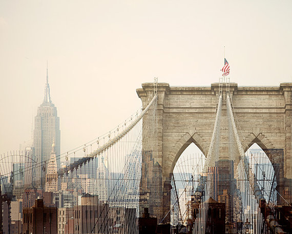 Irene Suchocki, Brooklyn Bridge and Empire State Building