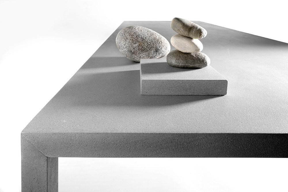 Tense Material in stone.