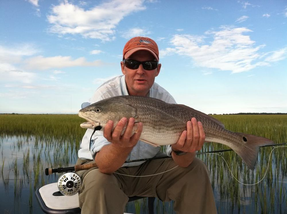 Fly Caught Redfish Fred Allen