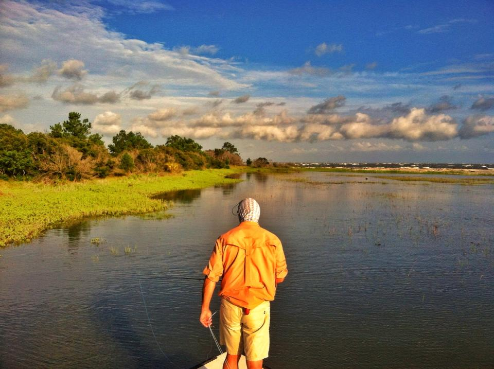 Tailing Redfish Grounds