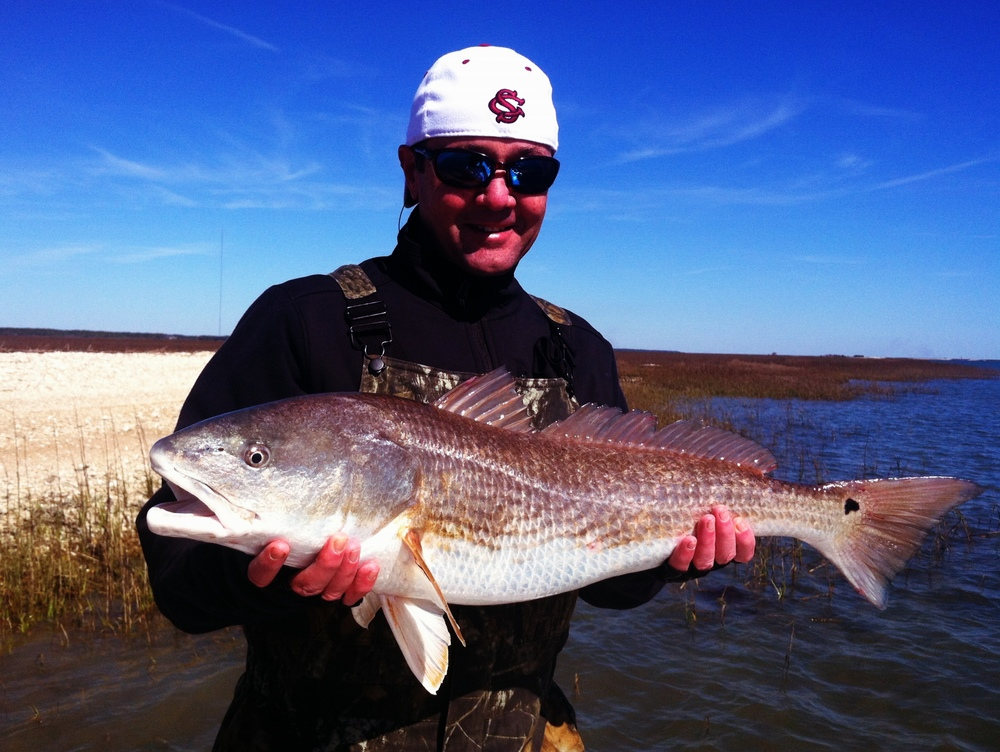 Winter Redfish, Geoff Gabriel