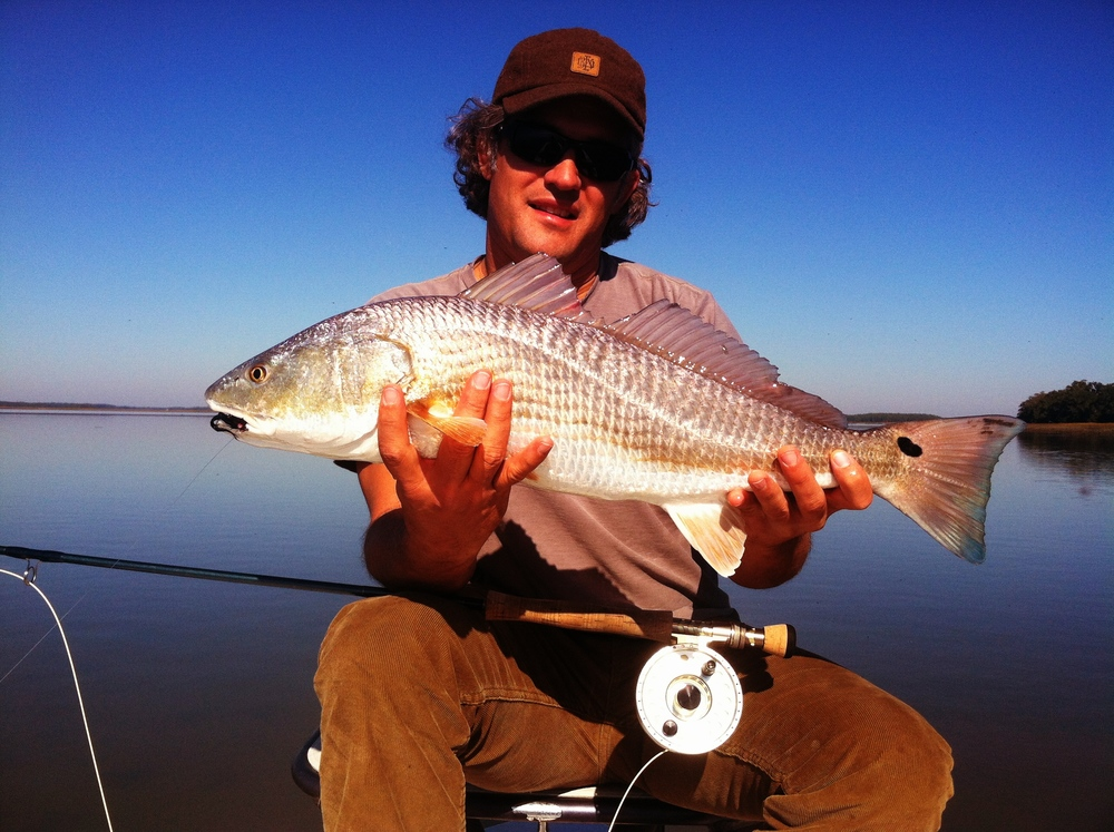 Fall Redfish on Fly