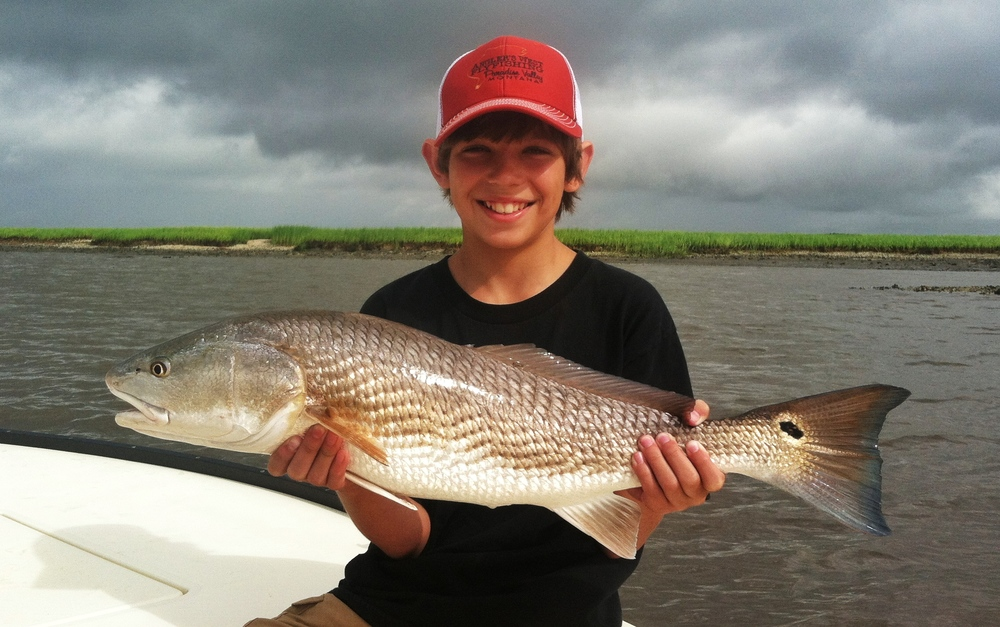Summer Redfish in Charleston
