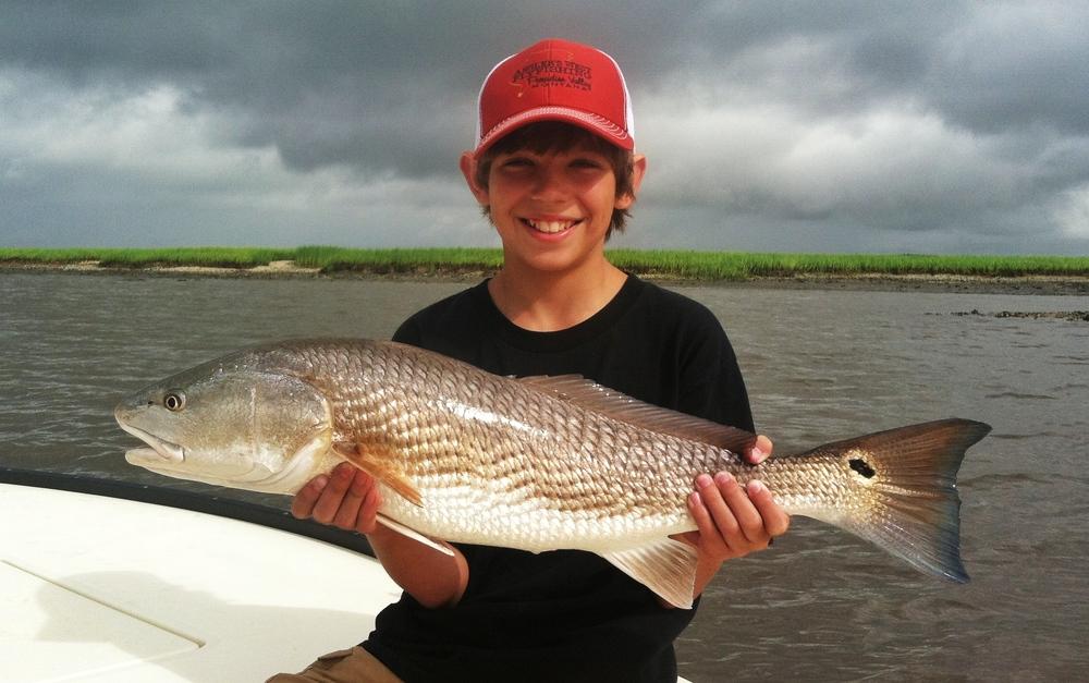 Summer Redfish in Charleston