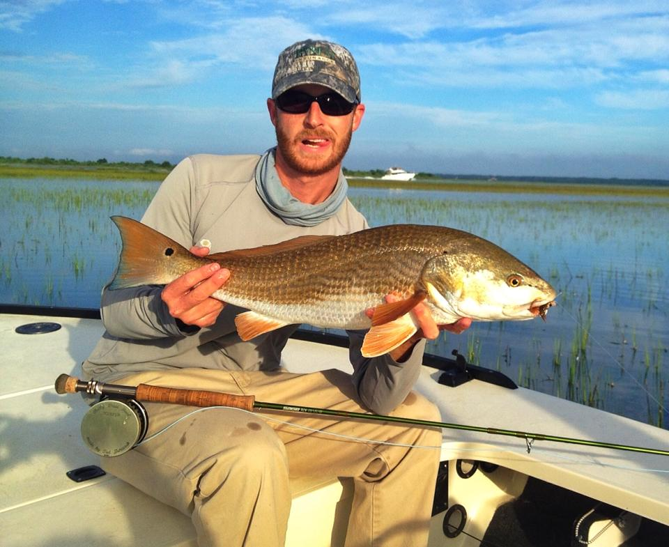 Hunter Allen Tailing Redfish