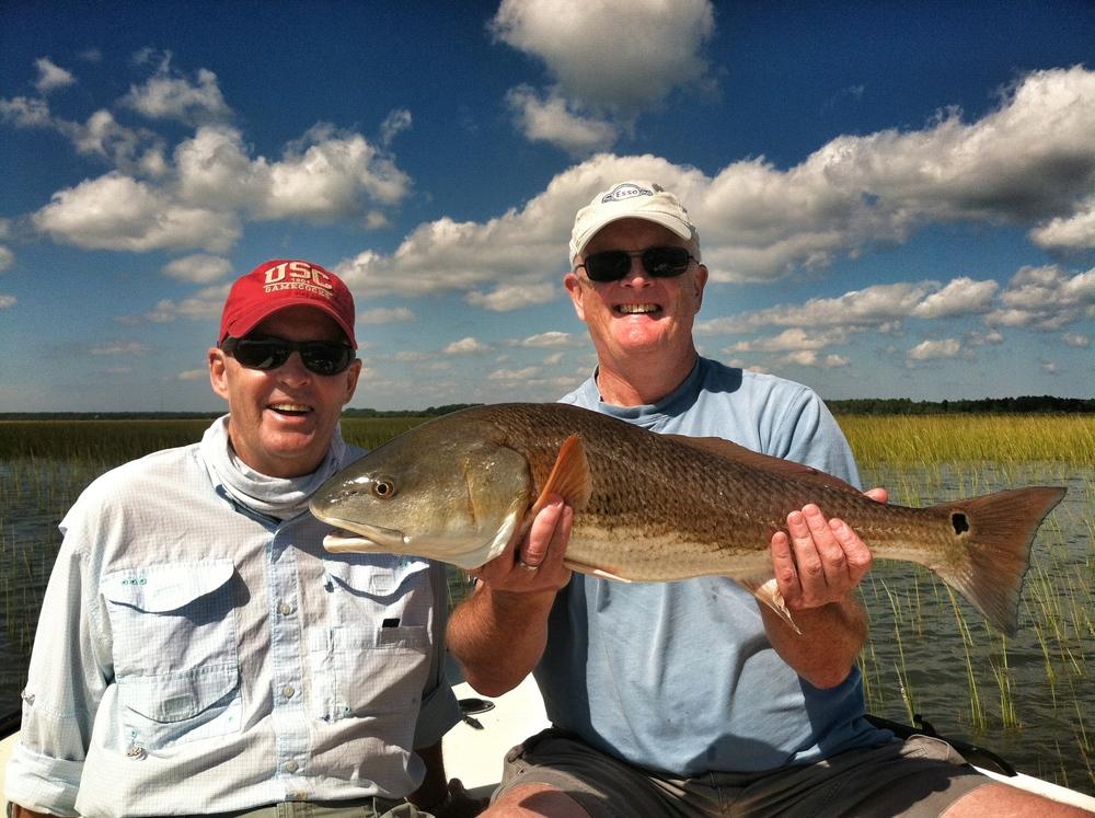 14lb Tailing Redfish
