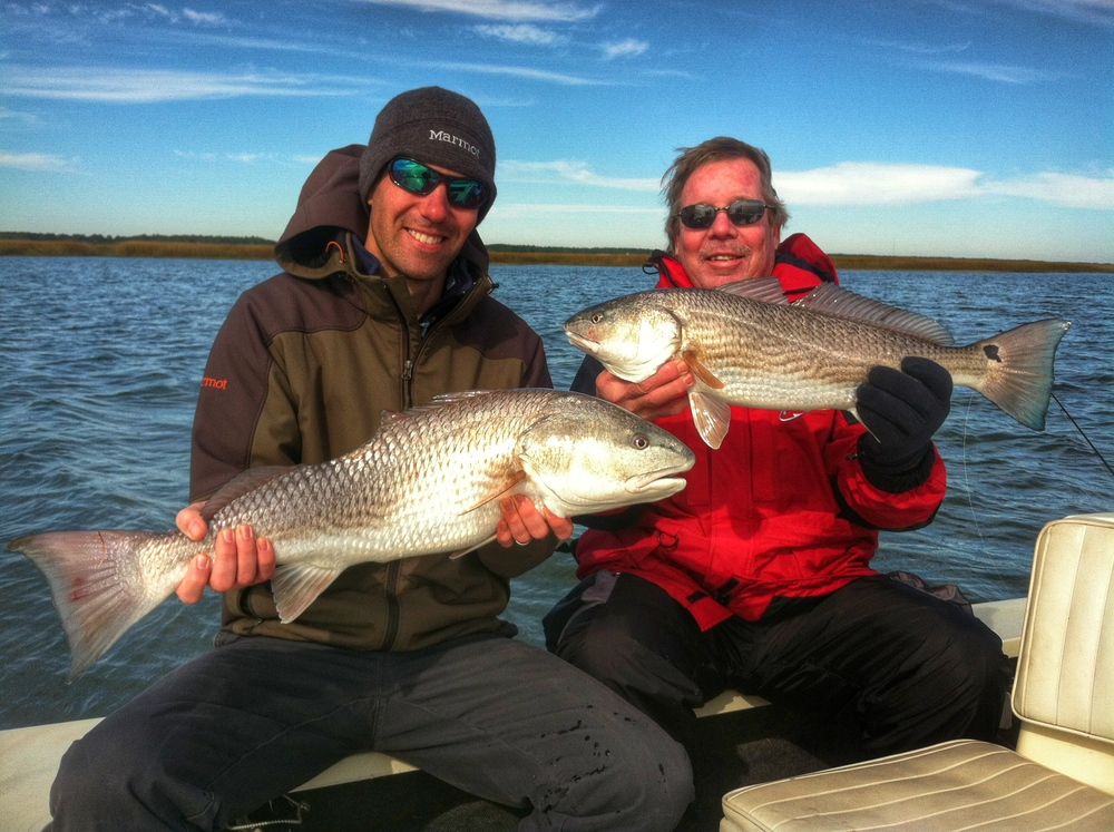 Double Charleston Redfish