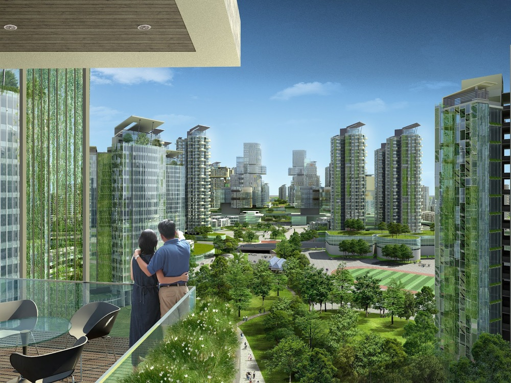 Eco-City snippits-and-slappits.blogspot.com All buildings should maximize solar harvesting, generate fresh air and provide localfood source