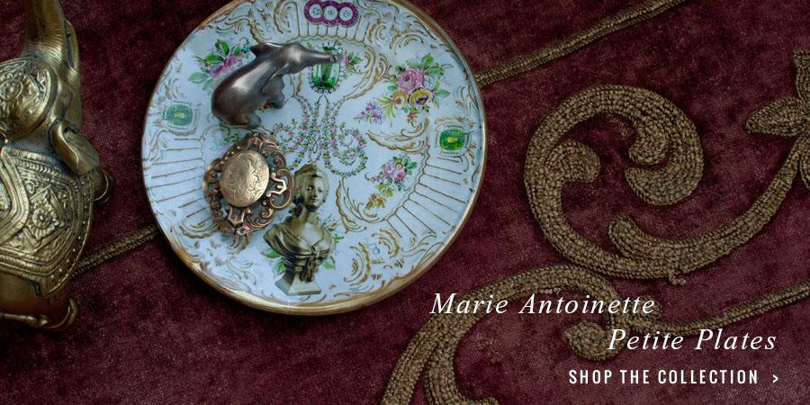 Marie Antoinette Petite Plate Series