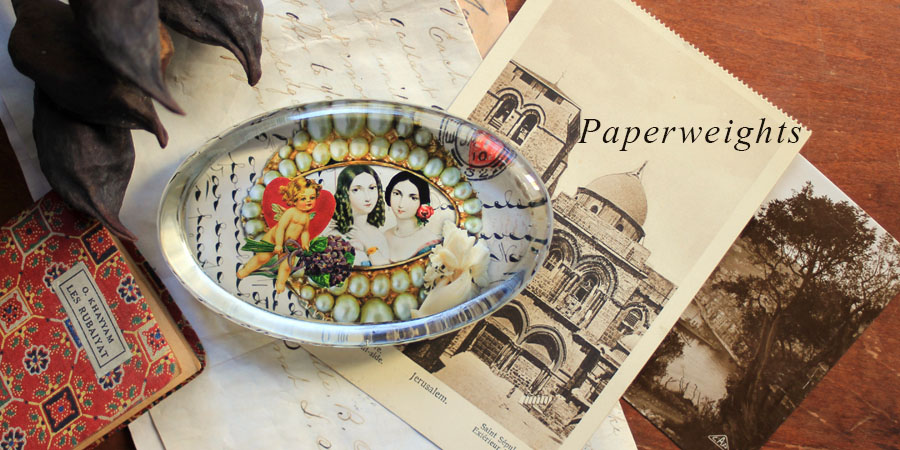 Victorian Sisters Paperweight