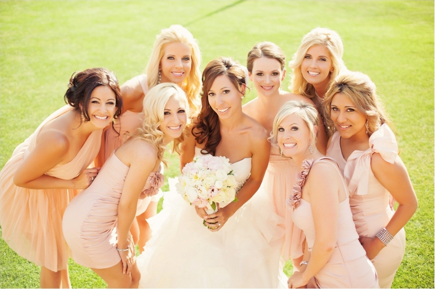 Makeup for bride and bridal party by Makeup by Rachel