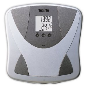 Tanita body fat monitors won't give you a very accurate number, but they can help make sense of day to day weight fluctuations due to hydration