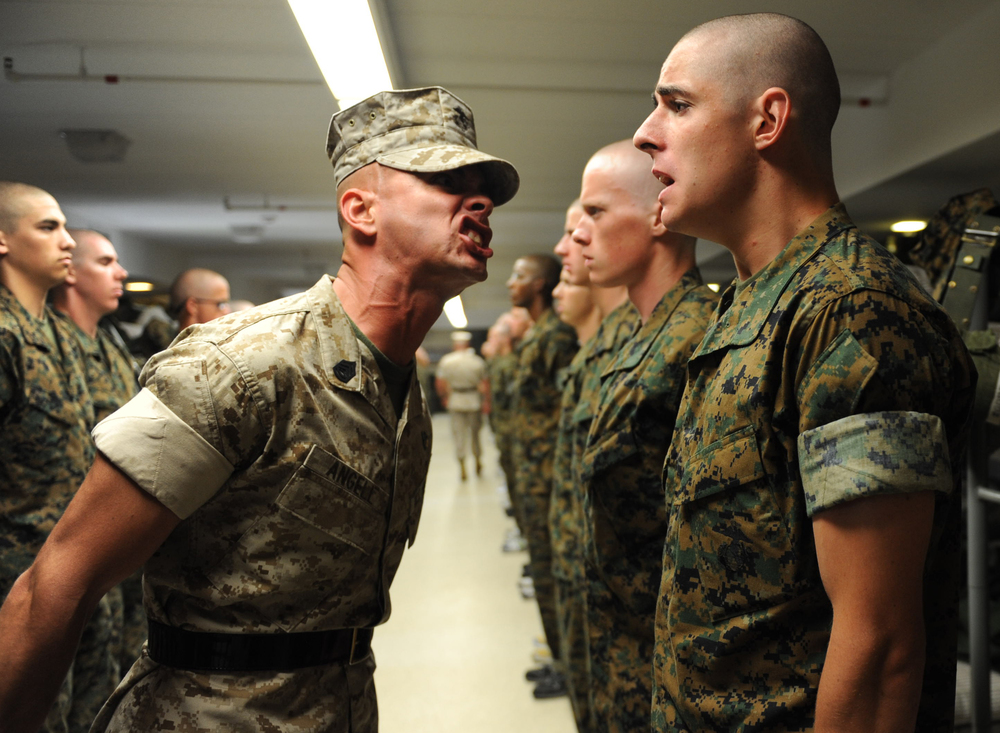 Some people need a drill sergeant for a coach... some people don't