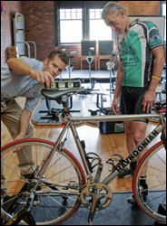 A bike fit can make you more comfortable, powerful, efficient, aerodynamic and safe.