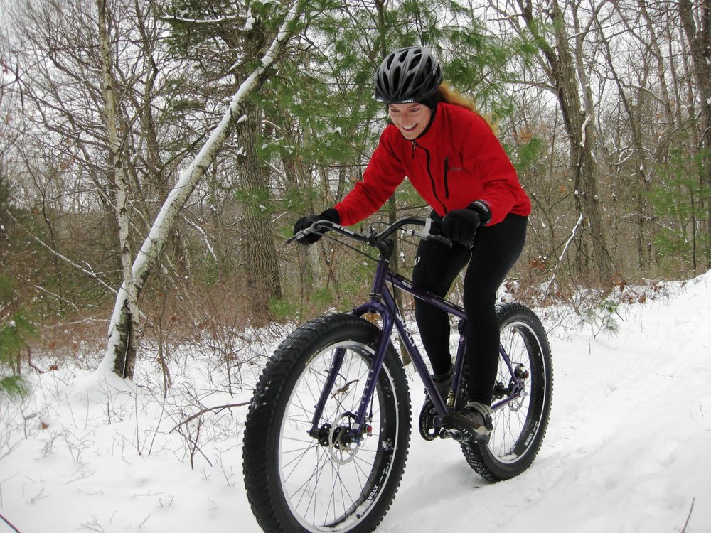Fat bikes are perfect for riding in the snow, but probably not worth it if you're only going to ride it 5 times per year