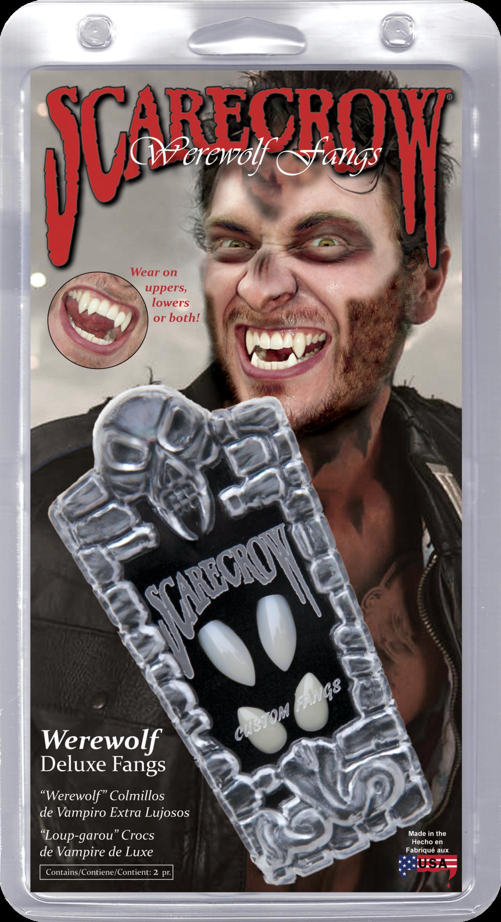 Werewolf Deluxe Custom Fangs (WF107)
