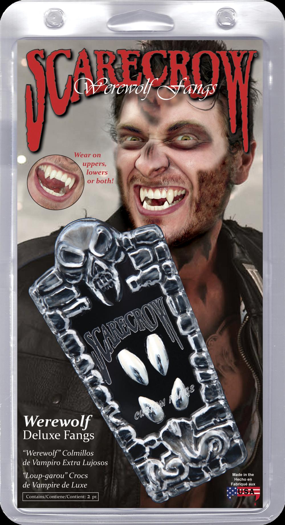 Chrome Werewolf Deluxe Custom Fangs (GLMWF107)