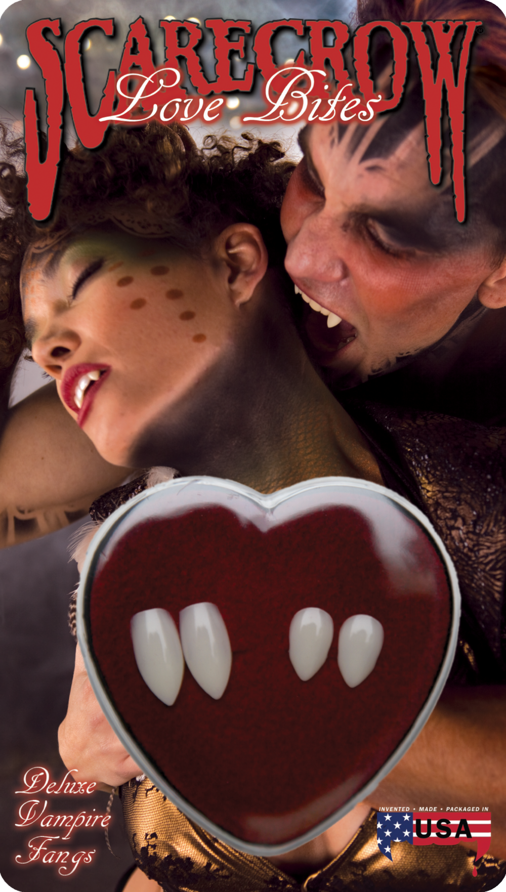 Couple Love Bites Deluxe Custom Fangs (LBC200)