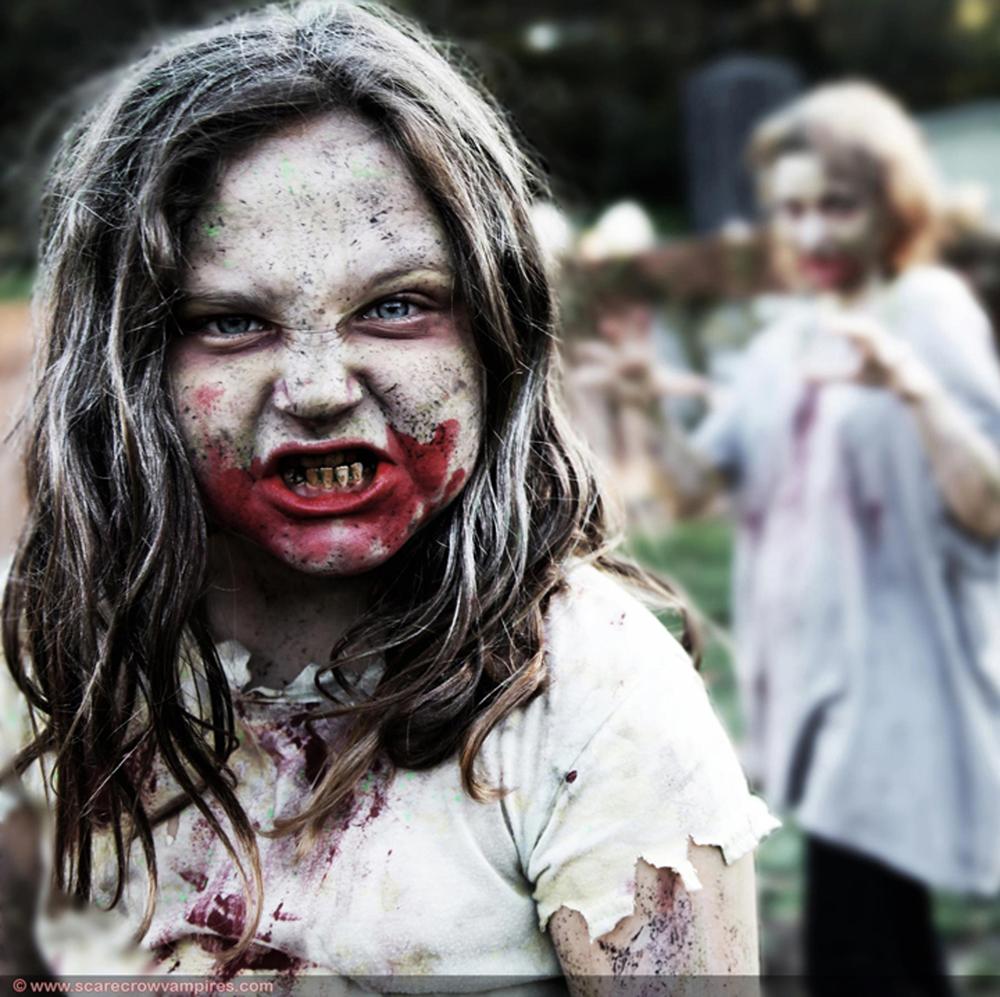 Zombie Teeth Paint & Blood Kit (ZTP104)