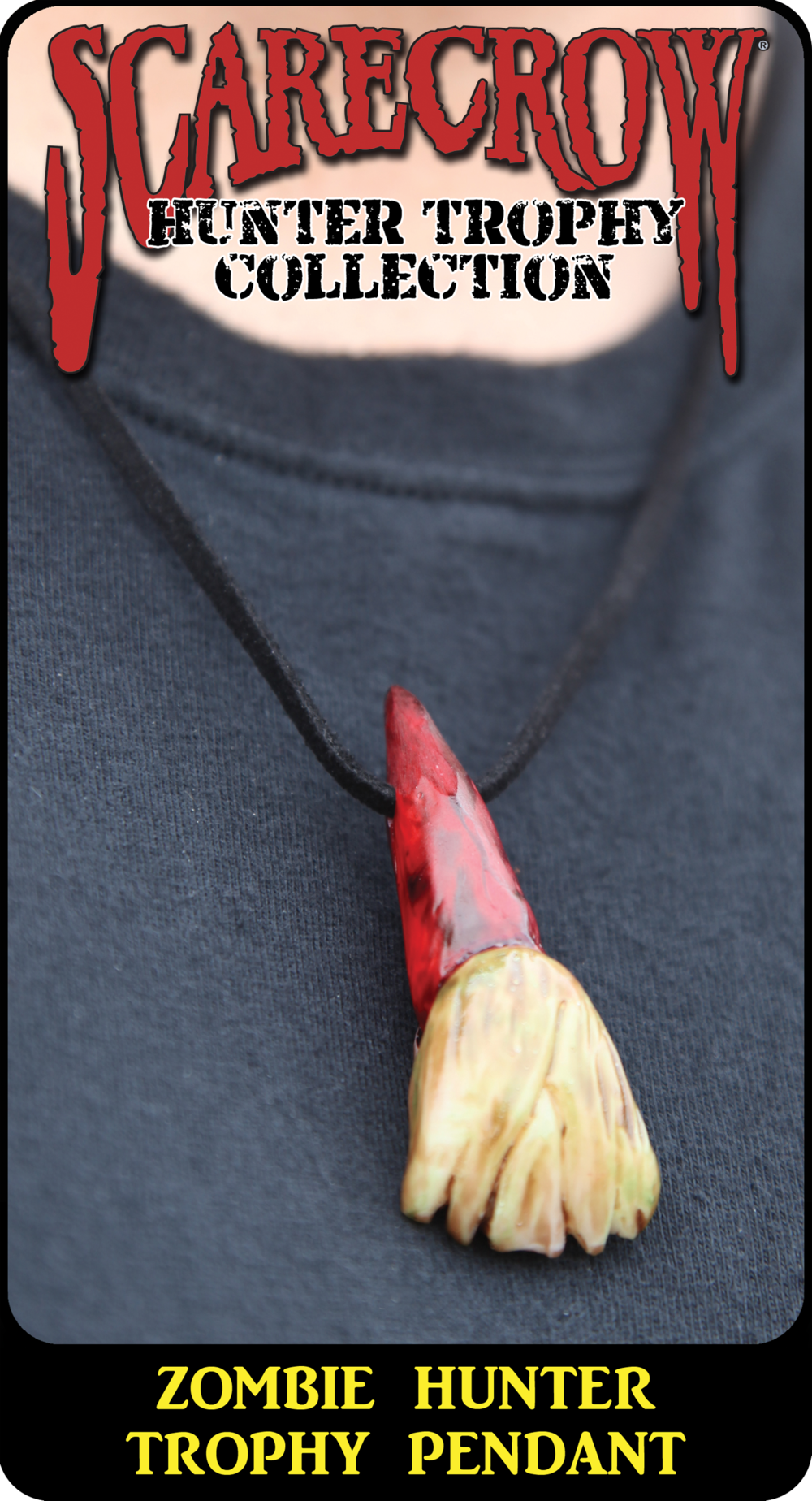Zombie Hunter Trophy Pendant (TZP730)
