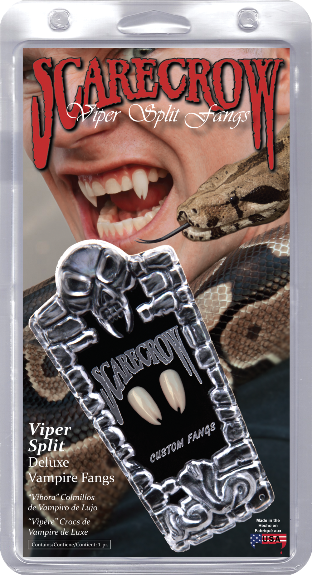 Viper Split Deluxe Custom Fangs (VF600)