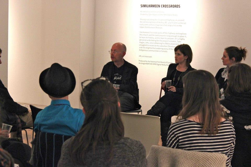 Earl Miller, Katherine Dennis, and Elizabeth Underhill present The Curators' Network Canada for the first time.