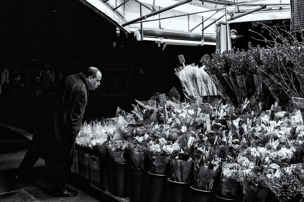 Manhattan flower shop