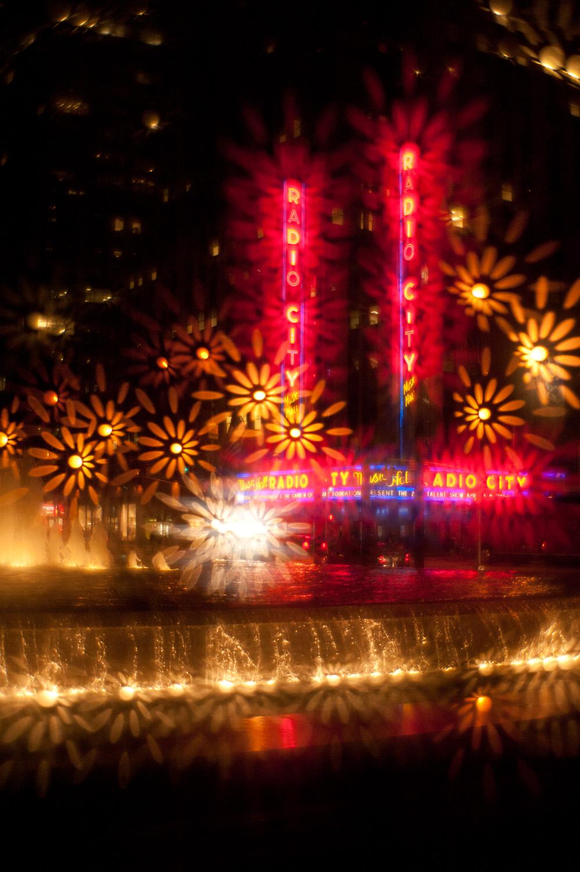 Rockefeller Center plus Lensbaby