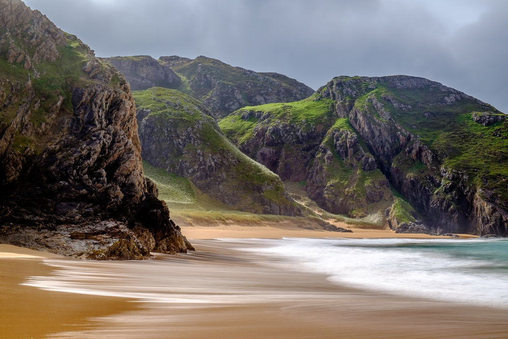 Murder Hole Beach, Donegal, Ireland. Probably the best shot I took on the photo tour.