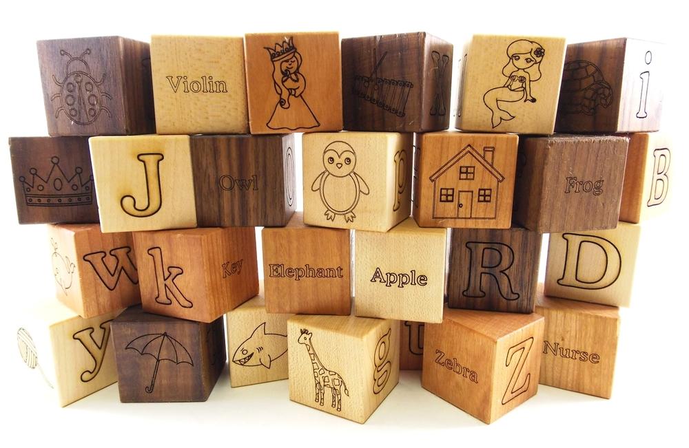 Alphabet Picture Blocks-$58