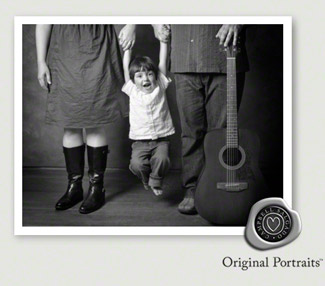 Family portrait photography at Campbell Salgado Studio.