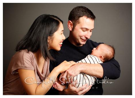 family & baby photography at Campbell Salgado Studio
