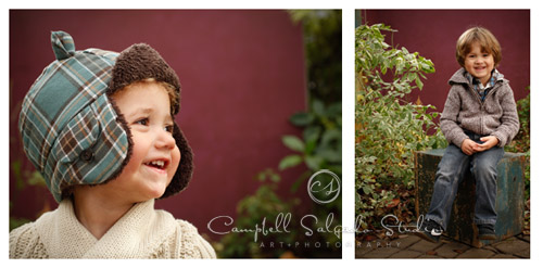 child photography portrait by Campbell Salgado Studio