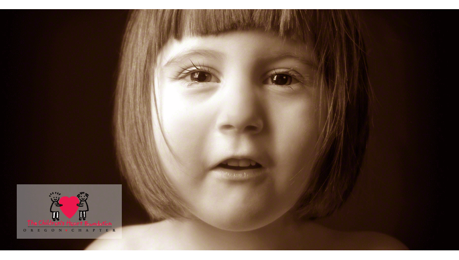 Children's Heart Foundation portrait of girl with congenital heart defect by photographers at Campbell Salgado Studio