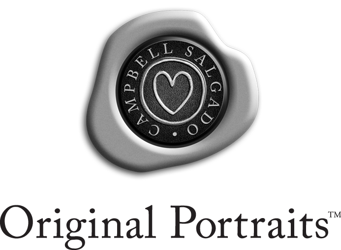 Original Portraits™ logo for Campbell Salgado Studio