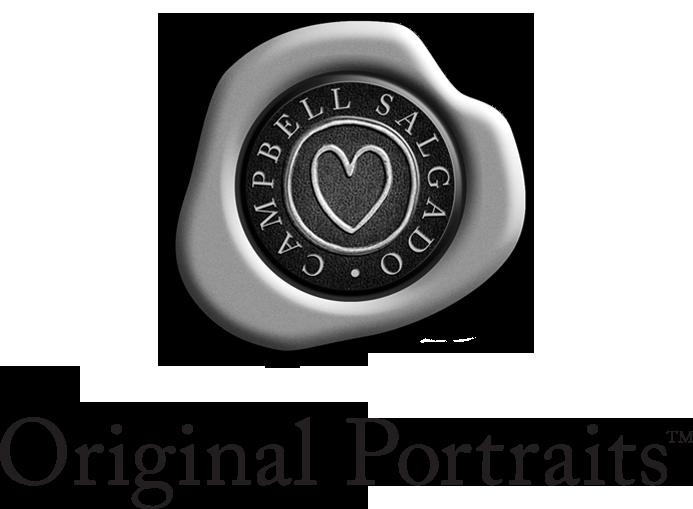 Original Portraits™ logo for Campbell Salgado Studio