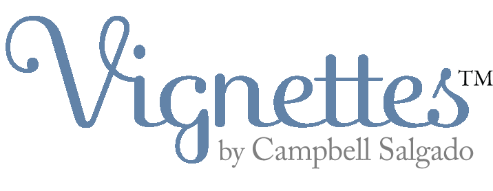 Vignettes logo by Campbell Salgado Studio