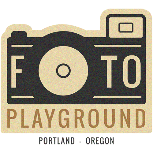 Foto Playground™ logo by Campbell Salgado Studio