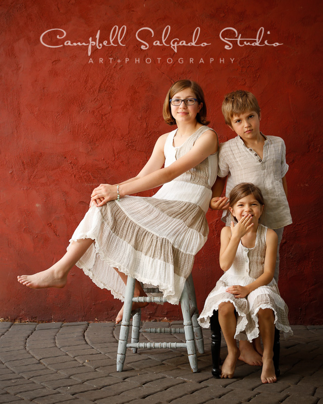 Children's photography by children photographers at Campbell Salgado Studio, Portland, Oregon